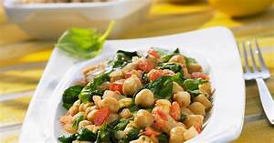 Spinat Als Salat : kichererbsen spinat salat mit tomaten rezept eat smarter ~ Orissabook.com Haus und Dekorationen