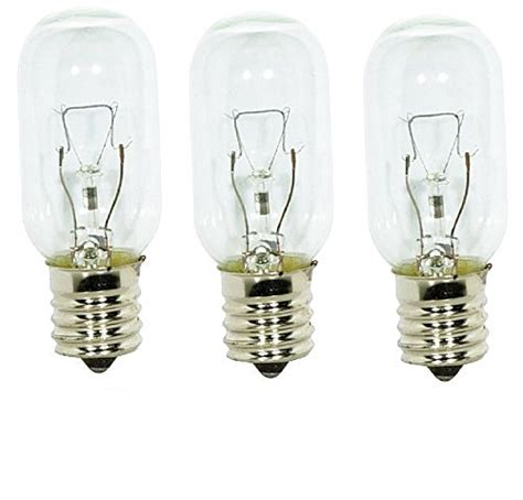 3 pack of wb36x10003 general electric microwave light bulb