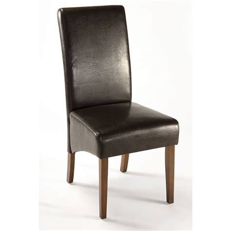 brown leather dining chairs chair pads cushions