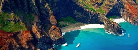 Napali Coast Hawaii Boat Tour by Napali Experience Boat Tours Smaller Boats That Hold