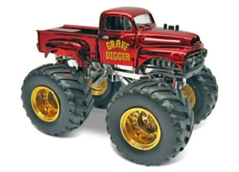 grave digger 30th anniversary monster truck toy wheels monster jam grave digger 30th anniversary