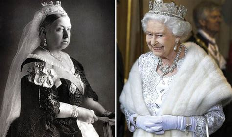 comparing queen victoria  queen elizabeth royal