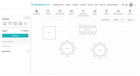 Table Seating Diagram Printable by 5 Free Wedding Seating Chart Templates
