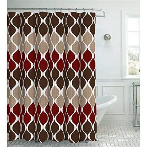 Burgundy Shower Curtain: Amazon.com