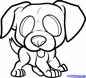 How to Draw a Boxer Puppy, Boxer Puppy, Step by Step, Pets ...