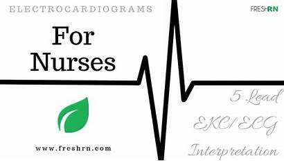 Ecg Nurses Ekg Interpretation Lead Electrocardiogram Strips