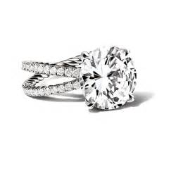 david yurman wedding rings david yurman crossover engagement ring with cut diamonds engagement rings photos