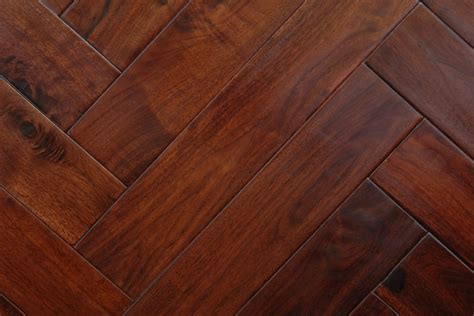 acacia golden walnut herringbone wood flooring