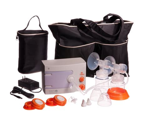 Hygeia Q Breast Pump With Deluxe Tote Pas Personal