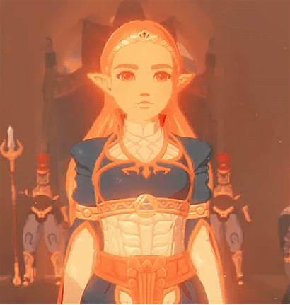 Zelda Princess Breath Gifs Legend Screenshots Triforce