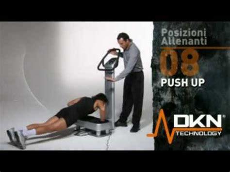 pedana vibrante dkn push up esercizi pedana vibrante dkn