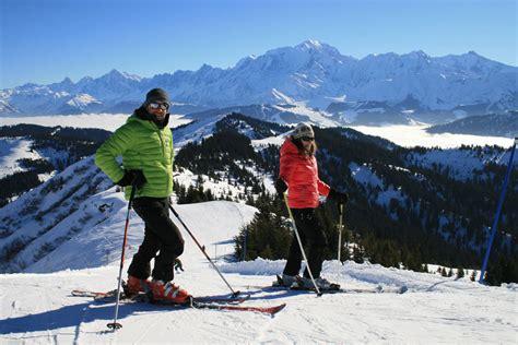 domaine skiable les portes du mont blanc avis stations pistes ski prix forfait ski