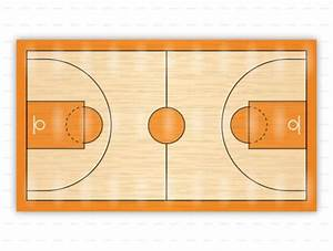 Basketball Court Diagrams For Drawing Up Plays And Drills
