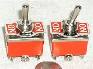 2 New Toggle Sw Dpdt On