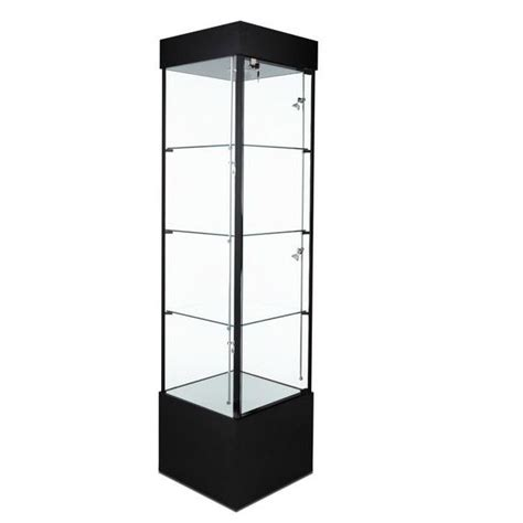 countertop options 78 quot square tower display w casters model number sfl900