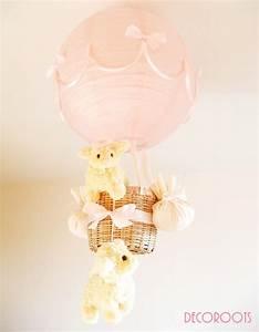 Lustre Bébé Fille : lustre mongolfiere little human pinterest mongolfiere lustre et lampes ~ Teatrodelosmanantiales.com Idées de Décoration