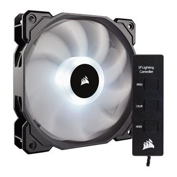 best static pressure rgb fans corsair sp120 rgb 120mm led single fan kit with lighting