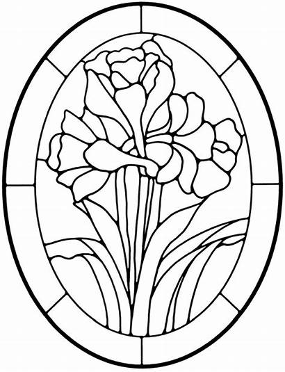 Stained Glass Patterns Coloring Pattern Dover Publications