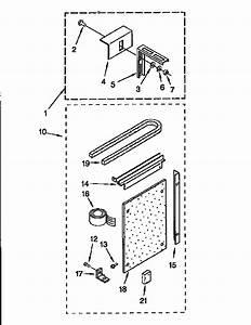 Sears 1069710536 Central Air Conditioner Parts