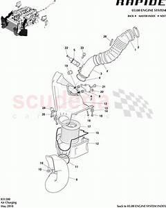 Aston Martin Rapide Air Charging Parts