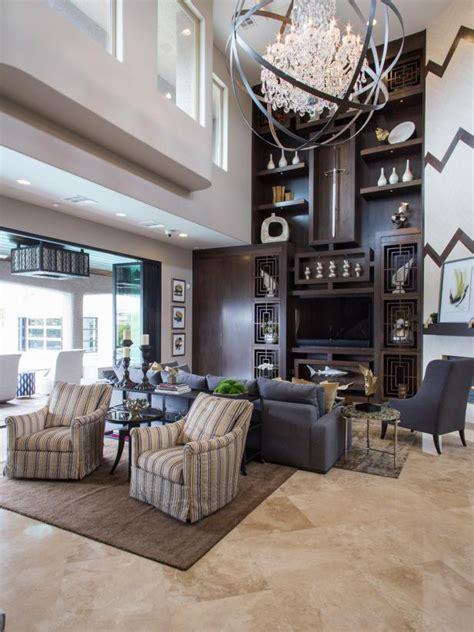 living room shelves  asian design hgtv