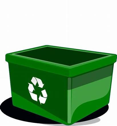 Bin Recycle Recycling Clipart Cartoon Clip Bins