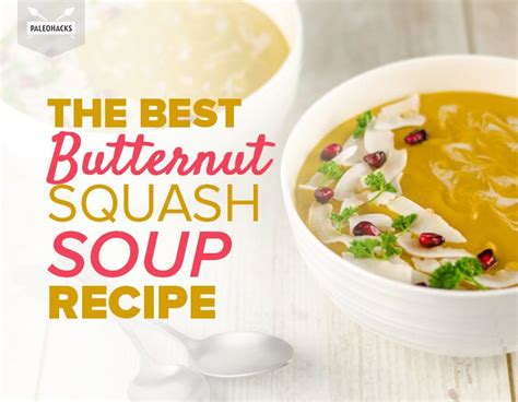 The Best Butternut Squash Soup Recipe With Pomegranate Seeds