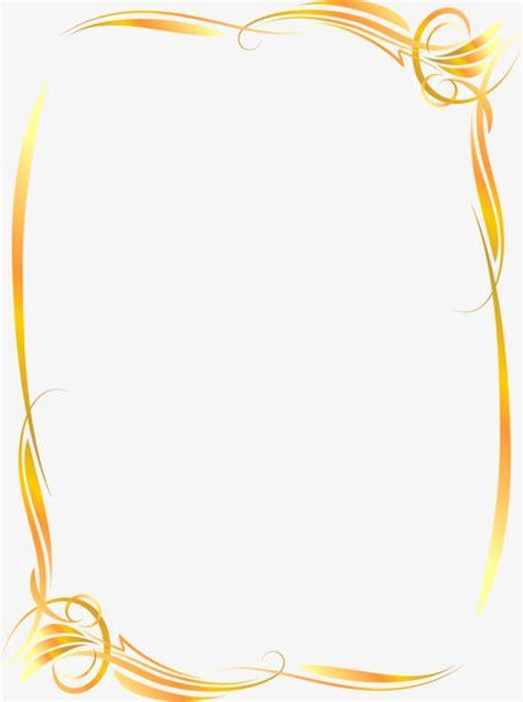 ornate gold frame vector frame border gold border