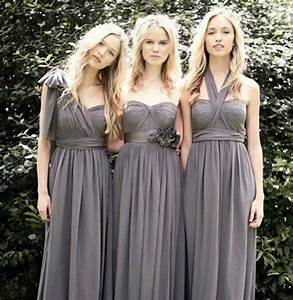 bridesmaid dresses in charcoal wedding ideas pinterest With charcoal dresses for weddings