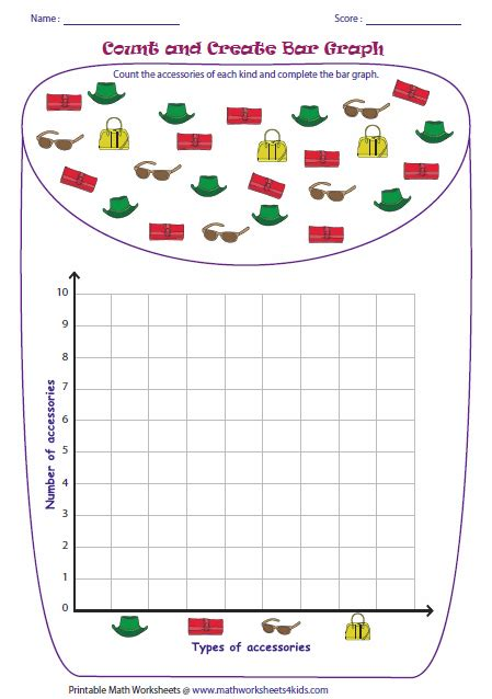 printable graphing worksheets for 4th grade printable