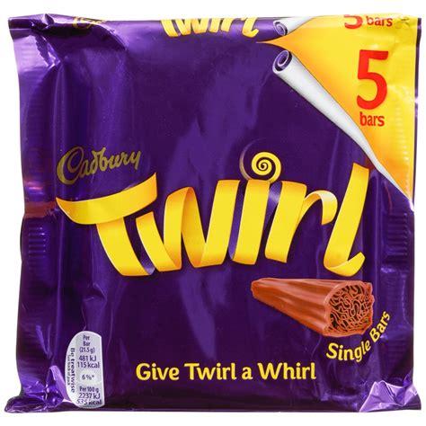 cadbury twirl pk chocolate bars chocolate multipack