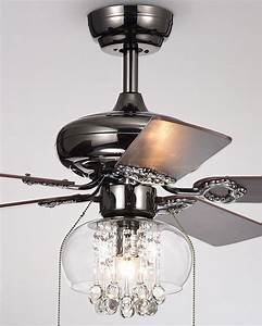 Home, Accessories, Aequor, Crystal, Drops, Chandelier, Ceiling, Fan