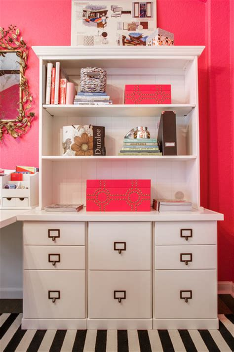 whimsical work space contemporary home office