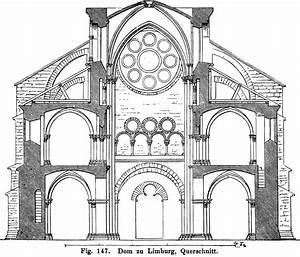 Merkmale Der Gotik : fig 147 dom zu limburg querschnitt ~ Lizthompson.info Haus und Dekorationen