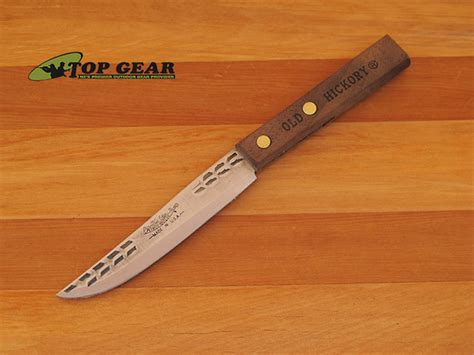 hickory kitchen knives hickory by ontario 4 quot paring knife 1095 high carbon