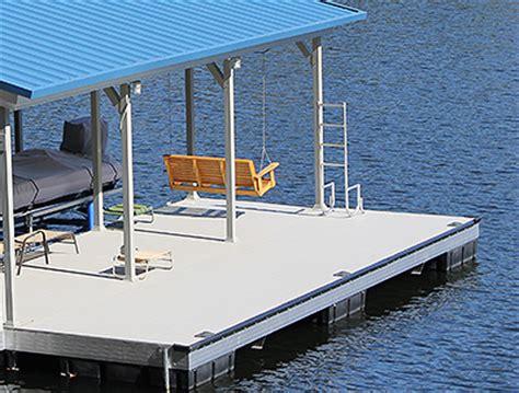 Boat Dock Swim Platform by Boat Dock Additions Flotation Systems Aluminum Boat Docks