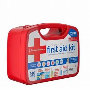 Johnson & Johnson Red Cross® All Purpose First Aid Kit ...