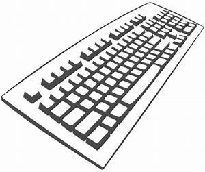 Computer Keyboard Clipart | Clipart Panda - Free Clipart ...