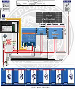 Camper Wiring Diagram W   3000w Inverter  U0026 600