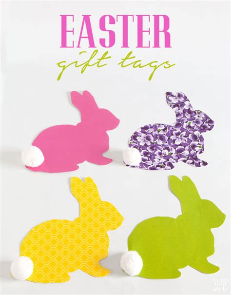 Easter Basket Labels Festival Collections Easter Name Tags Festival Collections