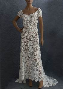 irish crochet lace wedding dress c1912 dresses With crochet lace wedding dress