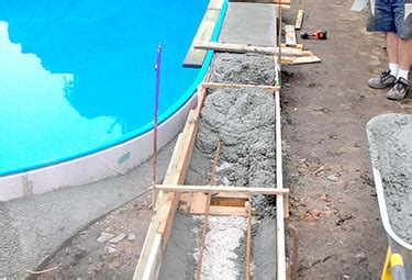 ovalpool aufbau aufbau stahlwand pools in 9 schritten poolsana der