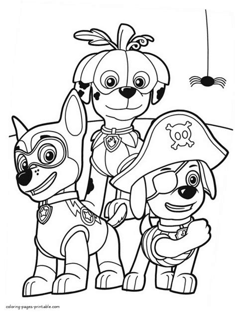 Skye Paw Patrol Coloring Pages at GetColorings com Free