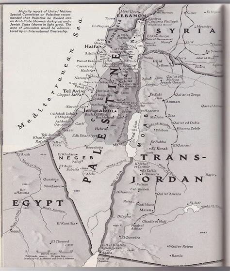 map  palestine    issue  national geographic