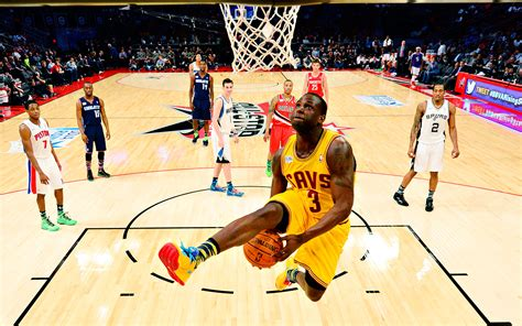 Free Cleveland Cavaliers Wallpaper Dion Dunking Nba Weekly Wrap Feb 17 2013 Espn