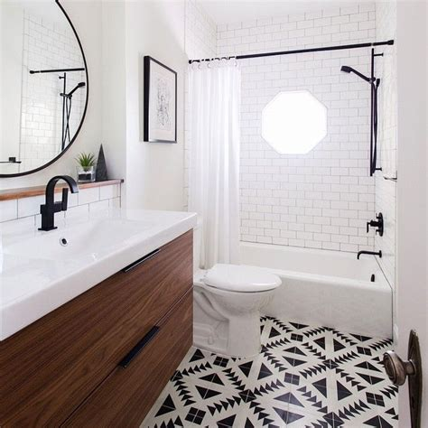 Ikea Badezimmer by Gorgeous Bathroom Using Cement Tile And Ikea Vanity