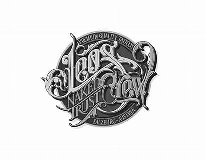 Hand Schmetzer Martin Lettering Drawn Typography Logos