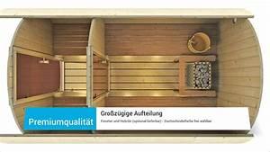 Gartenhaus Sauna Kombination : saunafass 330 premium von finn art blockhaus ~ Whattoseeinmadrid.com Haus und Dekorationen