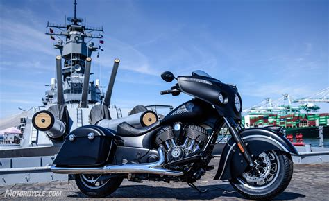 2016 Indian Chieftain Dark Horse First Ride Review
