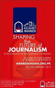 AGAHI: Agahi Aw... Journalism Awards